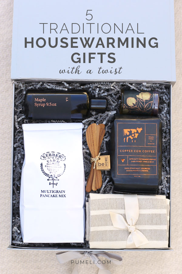 5 Traditional Housewarming Gifts with A Twist