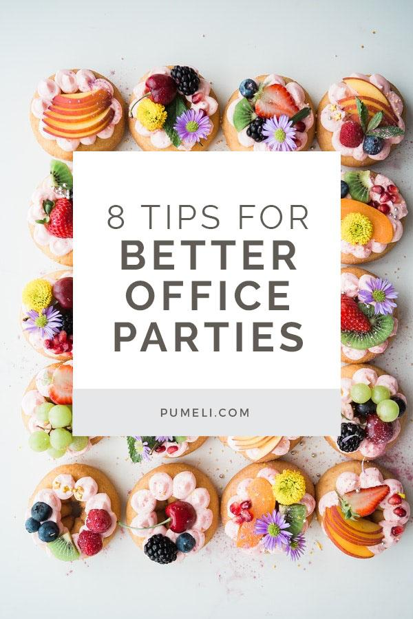 8 tips to throw creative office parties