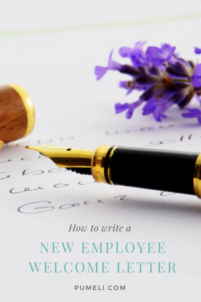 What To Include In Your Welcome Letter To New Employees