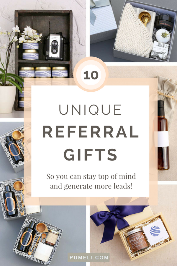 10 Unique Referral Gifts to Generate More Leads