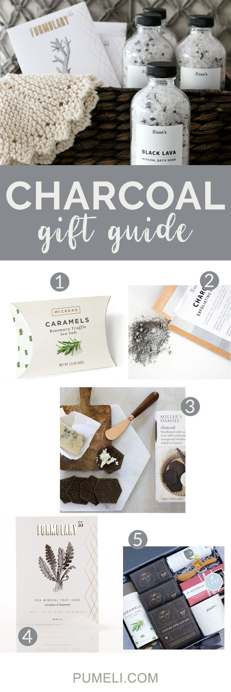 Activated Charcoal Gift Guide