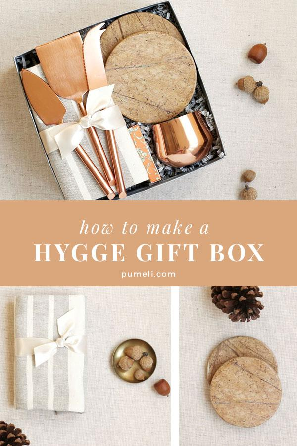How to make a hygge gift box