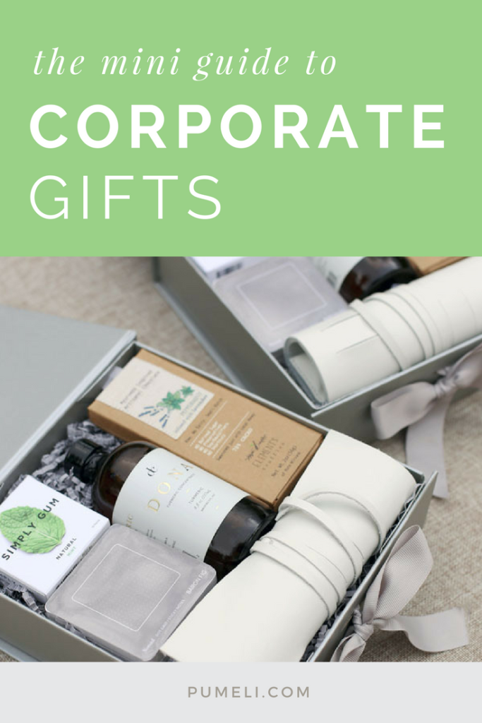 Corporate Gifting Mini Guide by #Pumeli
