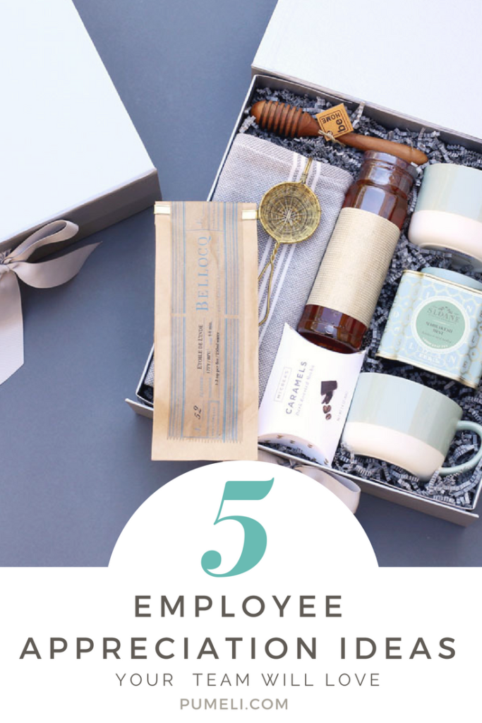 5 Employee Appreciation Gift Ideas